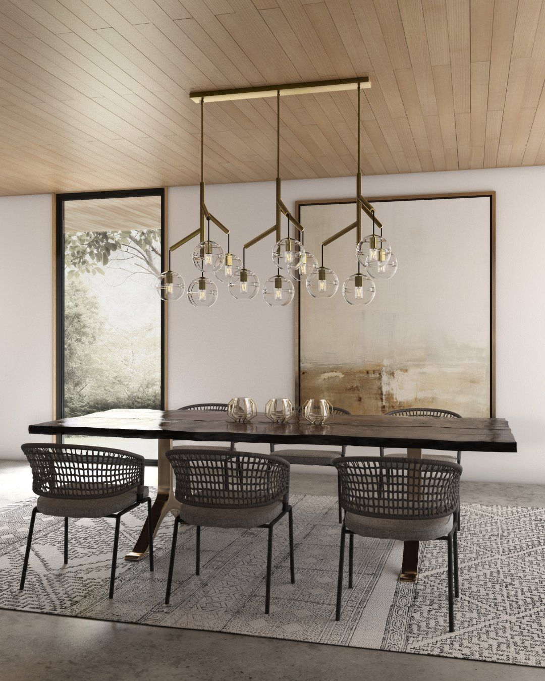 While Traditional Chandeliers Still Have Their Place Modern Chande Dining Room Chandelier Modern Contemporary Dining Room Lighting Modern Dining Room Lighting