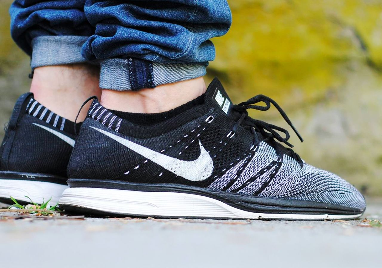 d1aa7a96cfb Nike Flyknit Trainer+ Black White (by Sven... – Sweetsoles – Sneakers