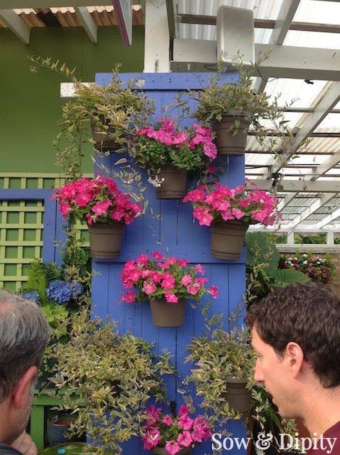 Planter Designs... perfect for small space gardens Sow and Dipity