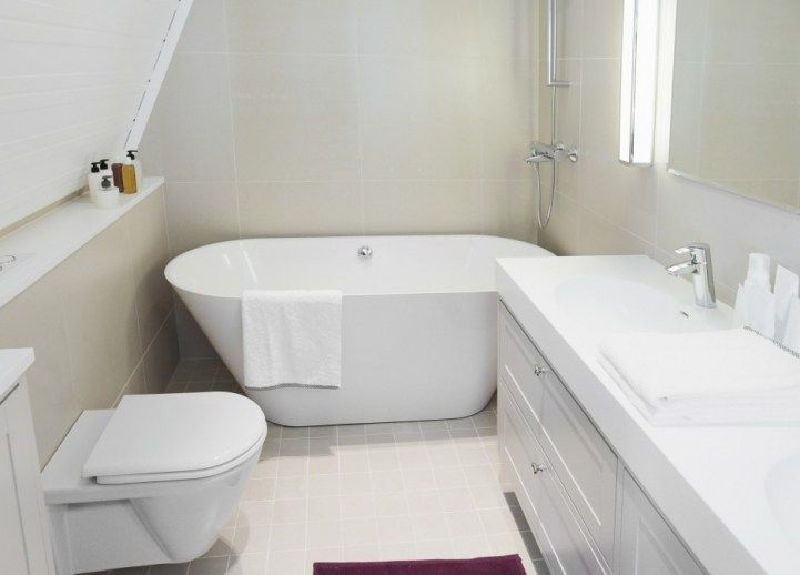 freestanding tubs in small space bathroom | Beautiful Baths ...