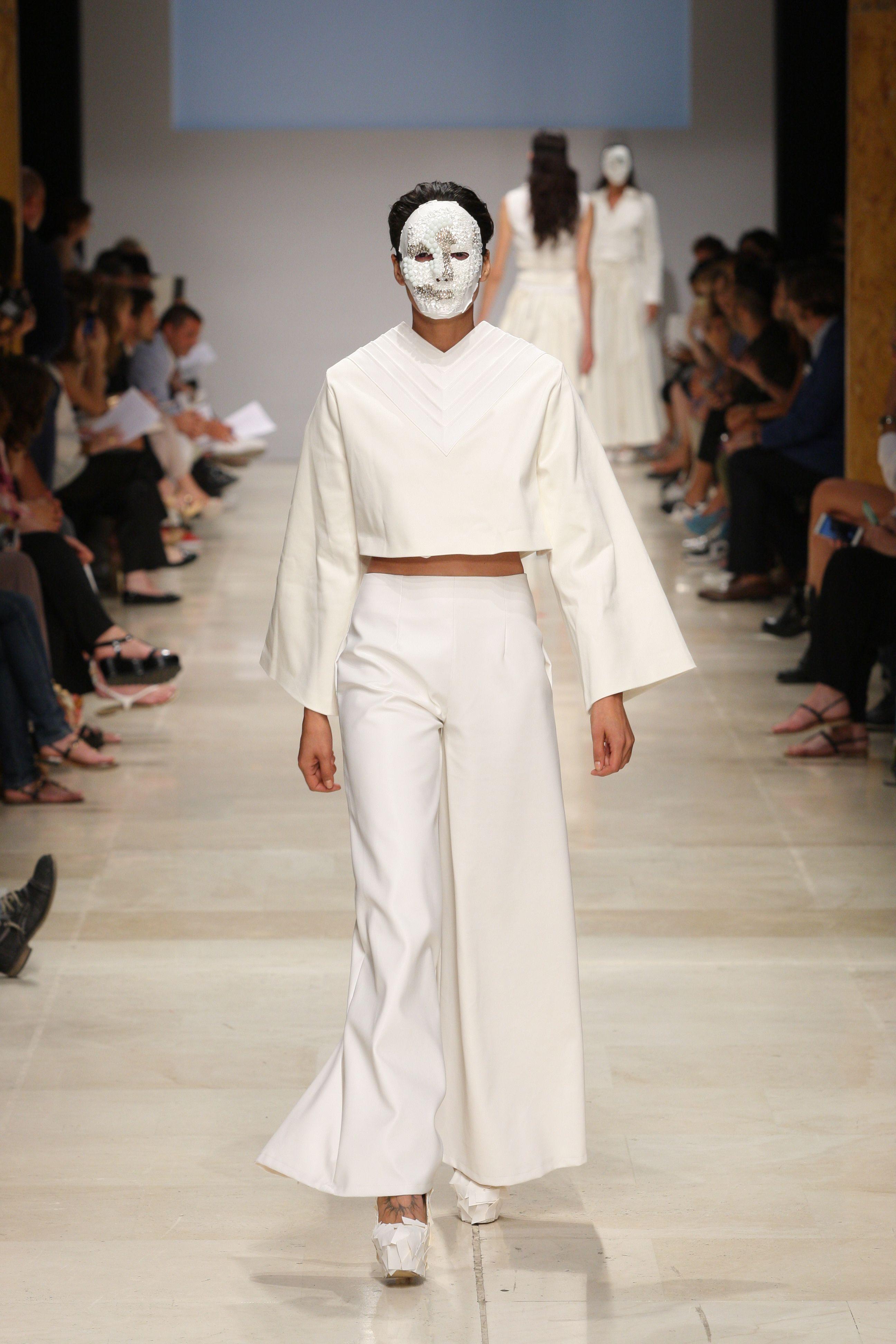 mini capsule collection total white Yulia Kachan Altieri academy Altaroma 2015