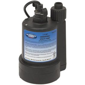 Superior Pump 91250 30 Gpm 1 1 4 Inch Submersible Utility Pump With Images Submersible