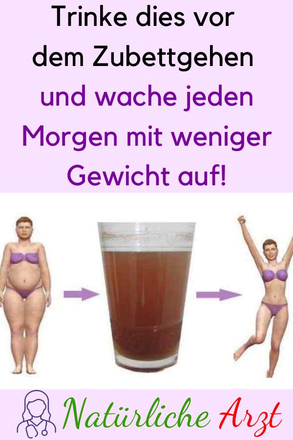 Trinken Sie dies vor dem Schlafengehen und wachen Sie jeden Morgen mit weniger Gewicht auf!