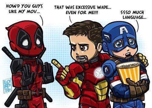 "Chris Evans on Twitter: ""Wow.....Deadpool was AWESOME! Well done @VancityReynolds #killedit #maximumeffort"""