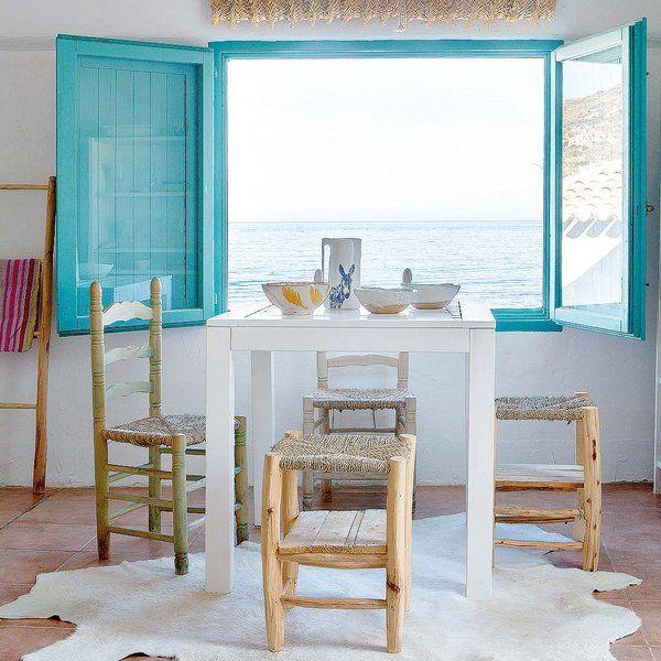 Una casa alicantina llena de luz   Muebles de estilo rústico ...