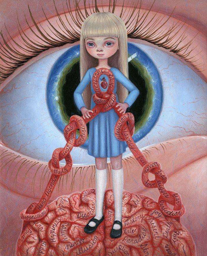 Art is a Feeling - Mind Control -Ana Bagayan http://anabagayan.com/
