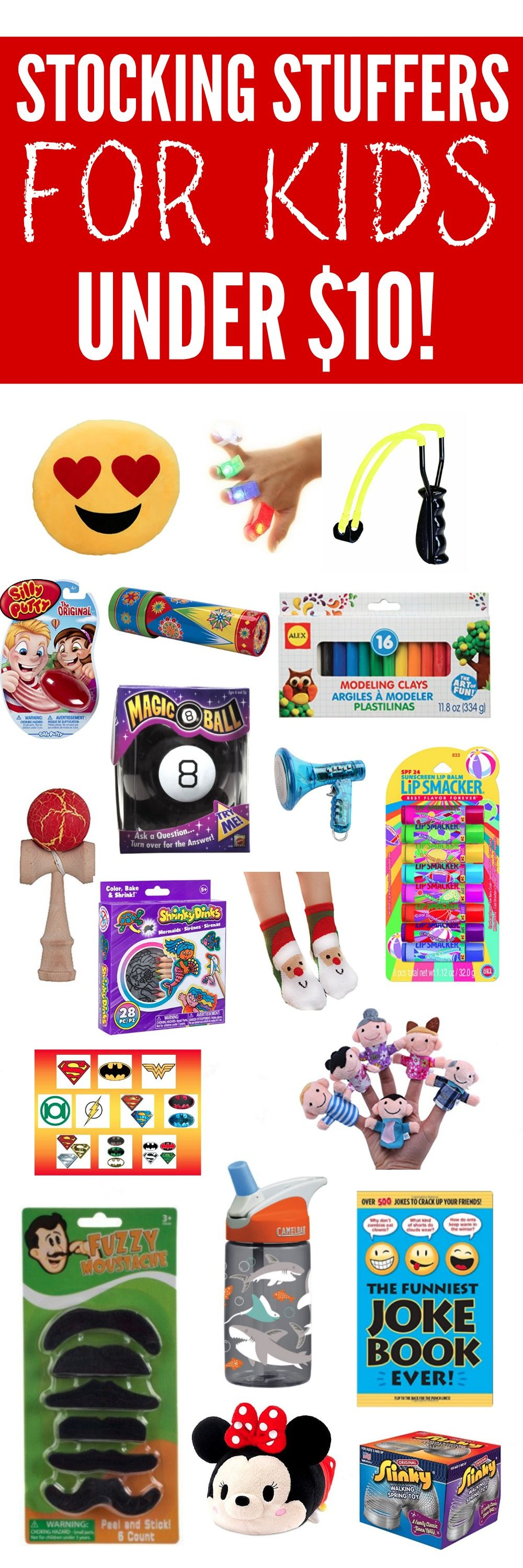 30 Stocking Stuffers Under $10 FOR KIDS | Stocking ...