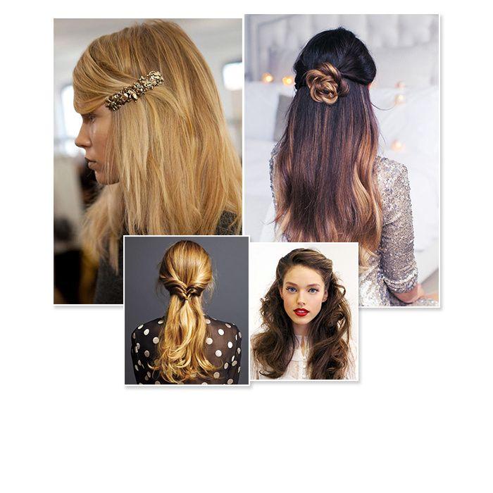 25 coiffures de fête qui changent du chignon Coiffure