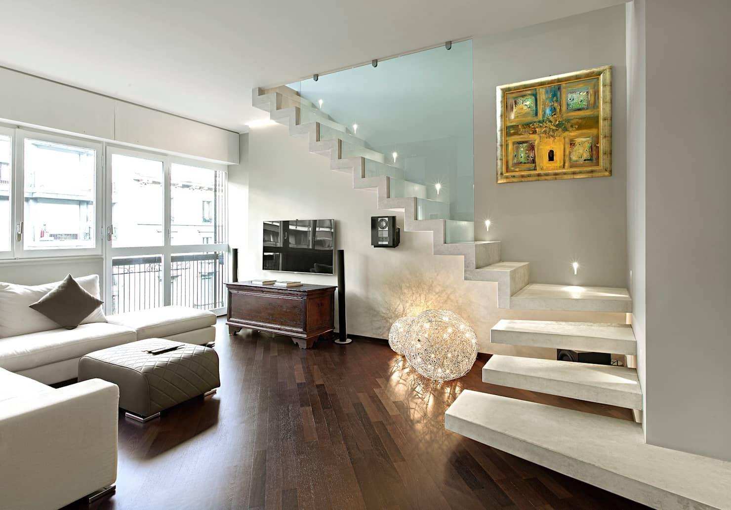 Photo of Casa shimano – living room soggiorno moderno di studiodonizelli moderno | homify