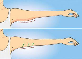 Упражнение №1, которое избавит от дряблой кожи на руках за 1 неделю и займет всего минуту!   Golbis