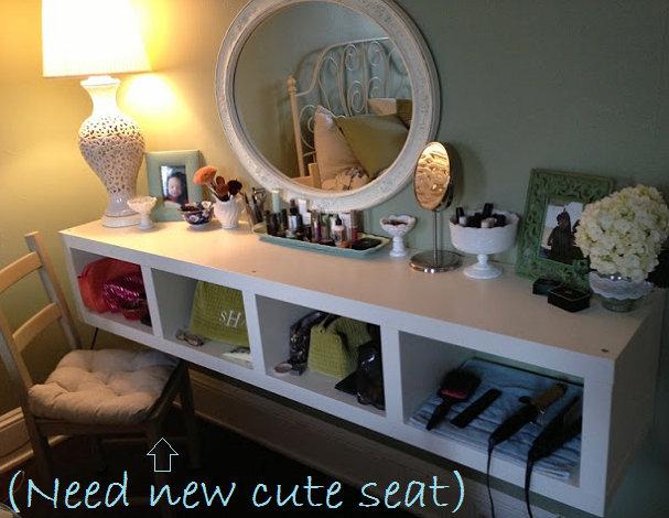 Love This Floating Vanity Made From An Ikea Shelf Home Diy Ikea Shelves Home Decor
