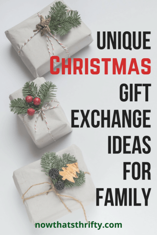 Are you looking for a new Christmas gift exchange tradition? These unique  Christmas gift exchange ideas for family are great for any Christmas  gathering or ... - Unique Christmas Gift Exchange Ideas For Family Christmas Cards