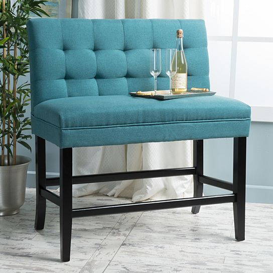 Awe Inspiring Paddy Tufted Back Fabric 26 Inch Barstool Bench For The Bralicious Painted Fabric Chair Ideas Braliciousco