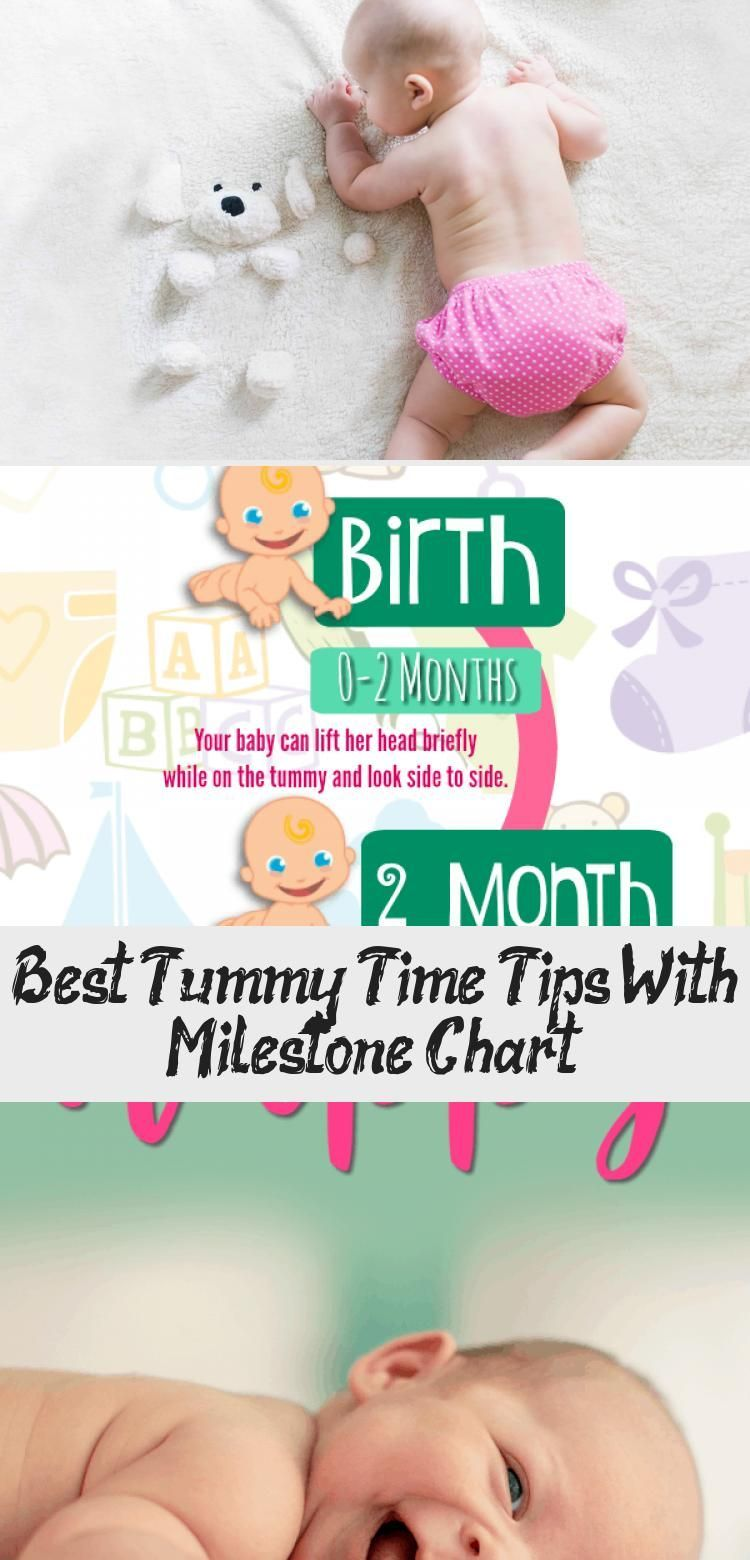 Have a newborn learn 5 tummy time trick like when to