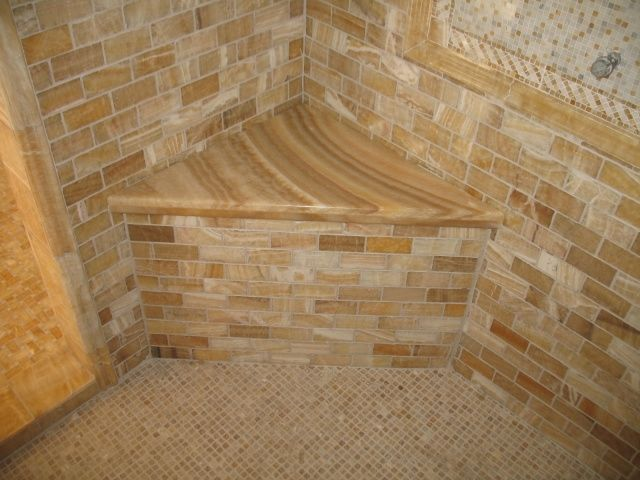 Guest Bath Granite Countertops Tile And Stone Photos Honey Onyx Shower