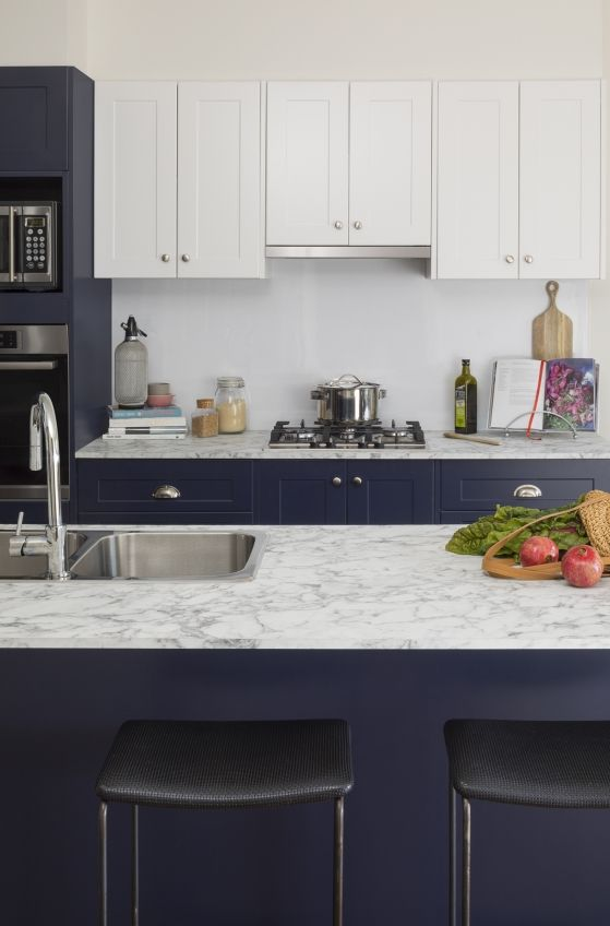 blue crush kitchen inspiration and ideas kaboodle kitchen blue crush bluepea doors in alpine on kaboodle kitchen white pepper id=93261