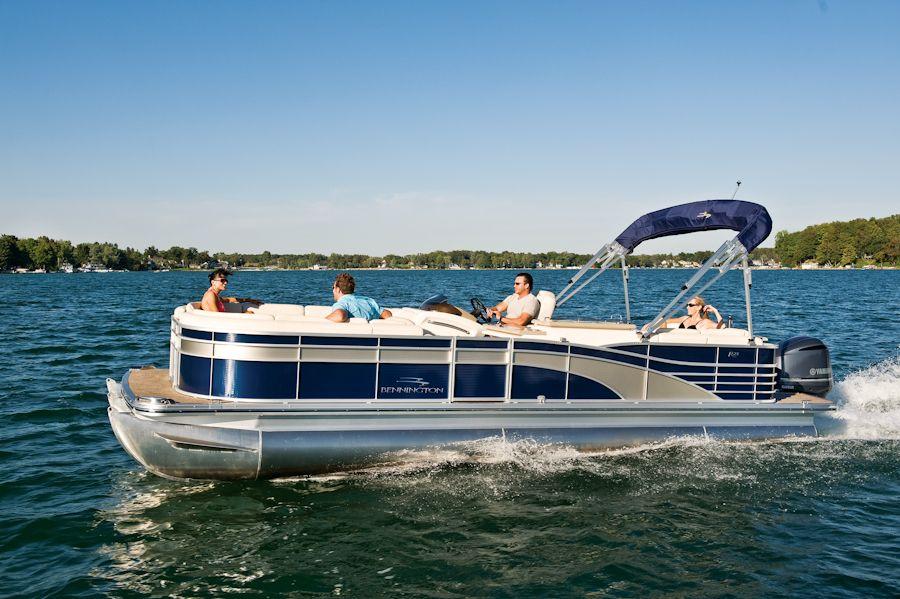 Purchase Your Bennington Pontoon Boat At Gage Marine In