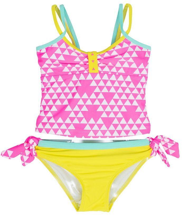 b98c57988bc Fun bright tinkini on sale! Girls 4-6x Big Chill Geometric Tankini ...