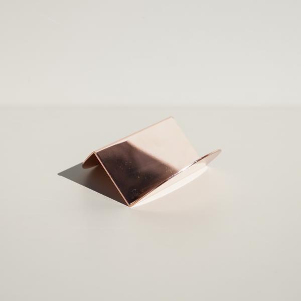 6178cab779f6 Wave Business Card Holder (Copper) - Souda