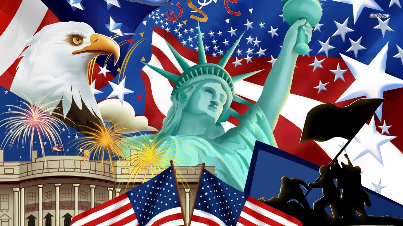 Symbols Of America | Wallpaper Symbol Of The Usa Eagle: American Symbols  Wallpaper Digital .