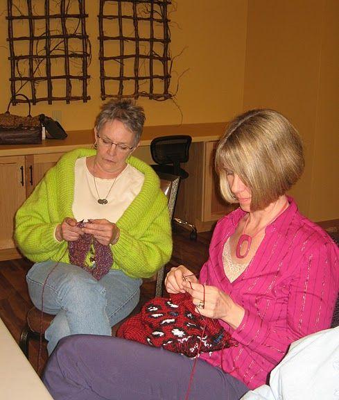 Knitting buds....