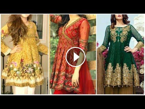 6a39104ec38 Frock Style Party Wear Dresses 2018-19 Fashion