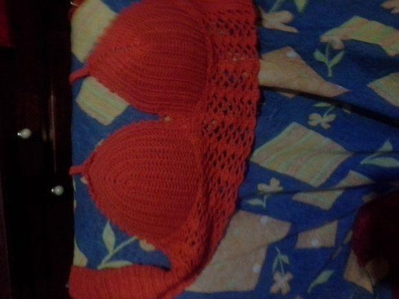 Cropped croche agora com bojo