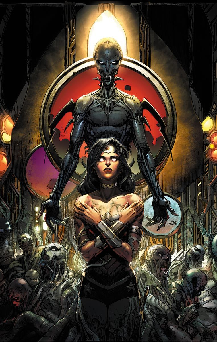 WONDER WOMAN #40 - Written by MEREDITH FINCH / Art and cover by DAVID FINCH and BATT / MOVIE POSTER Variant cover by BILL SIENKIEWICZ