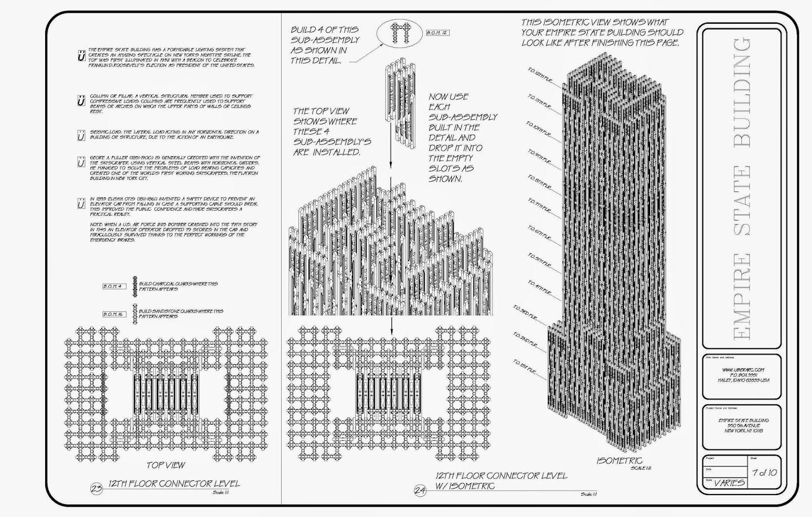 Empire state building plan googleda ara