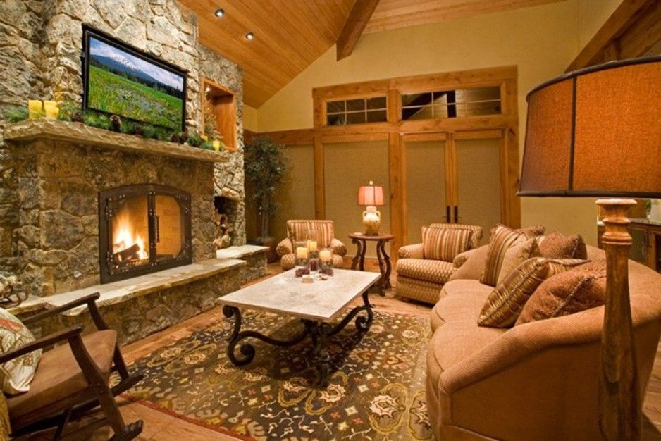 Impressive Warm Living Room Ideas Collection