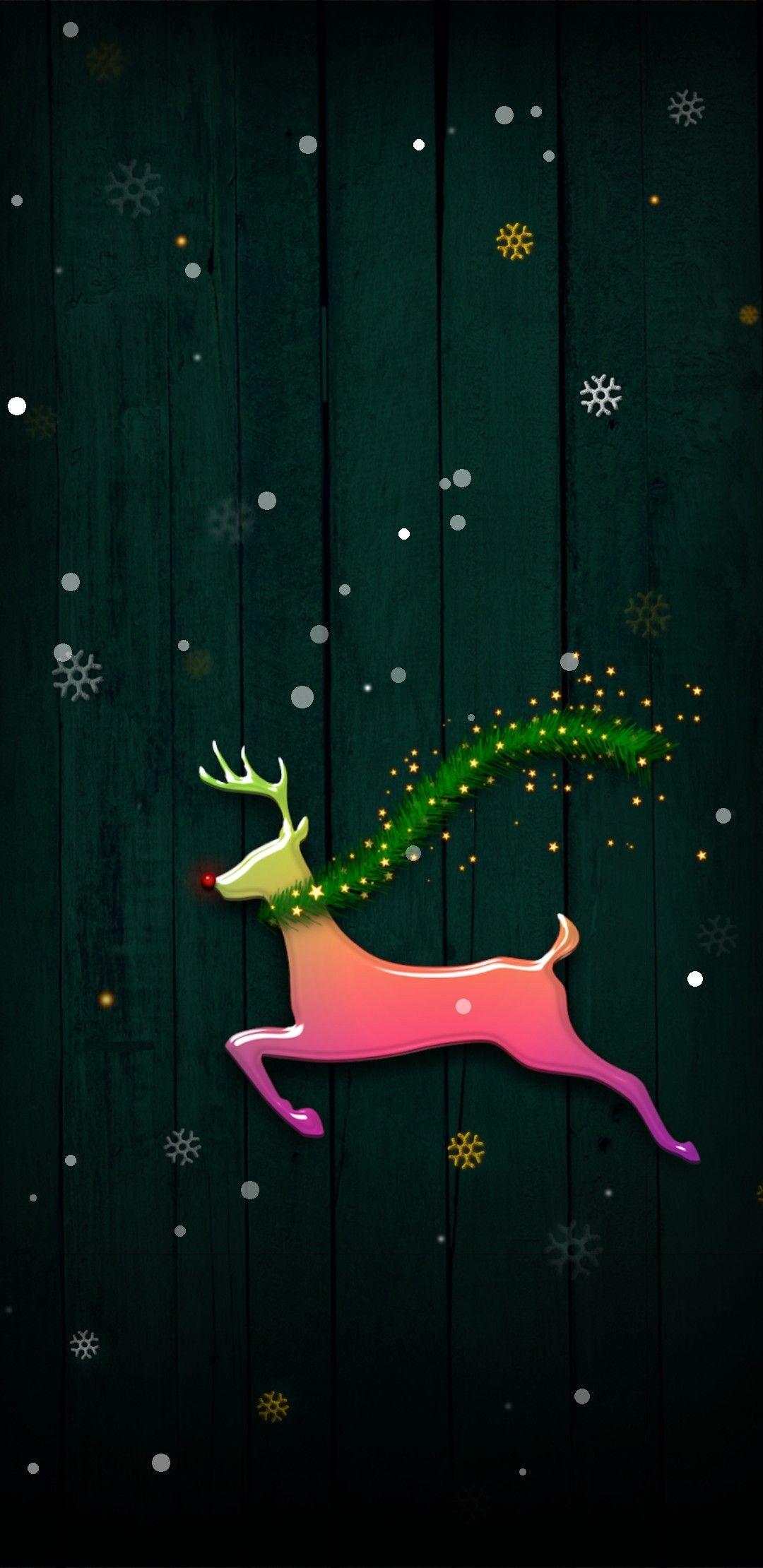 Rudolph Christmas Wallpaper Wallpaper Iphone Christmas Cute