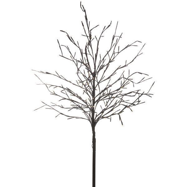 Sirius Noah Decorative Tree - 150cm (145 CAD) ❤ liked on Polyvore featuring home, home decor, black, metal flower pots, black plant pots, outdoor flower pots, metal home decor and christmas home decor