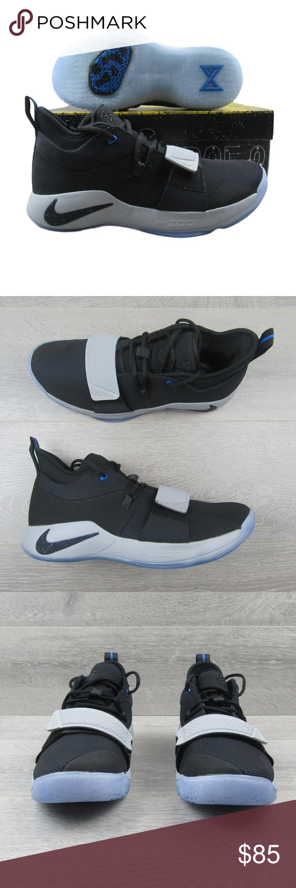 best service 2dec7 1b3c0 Nike PG 2.5 Black Photo Blue Basketball Shoes PRICE IS FIRM ...
