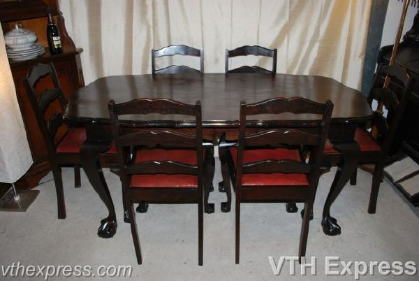 Amusing Second Hand Black Dining Table And Chairs