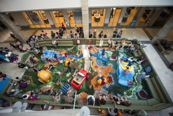 Triangle Mall Play Areas For Little Ones Weekend Fun Mall Play Area Things To Do