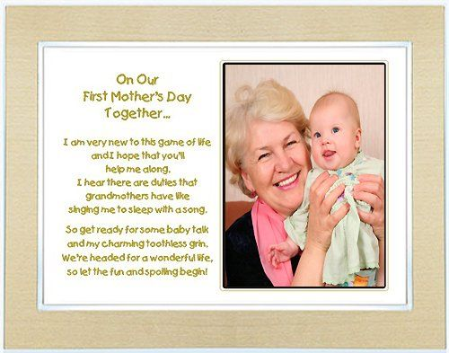 Amazon.com: First Mother\'s Day Gift for Grandmother from Grandchild ...