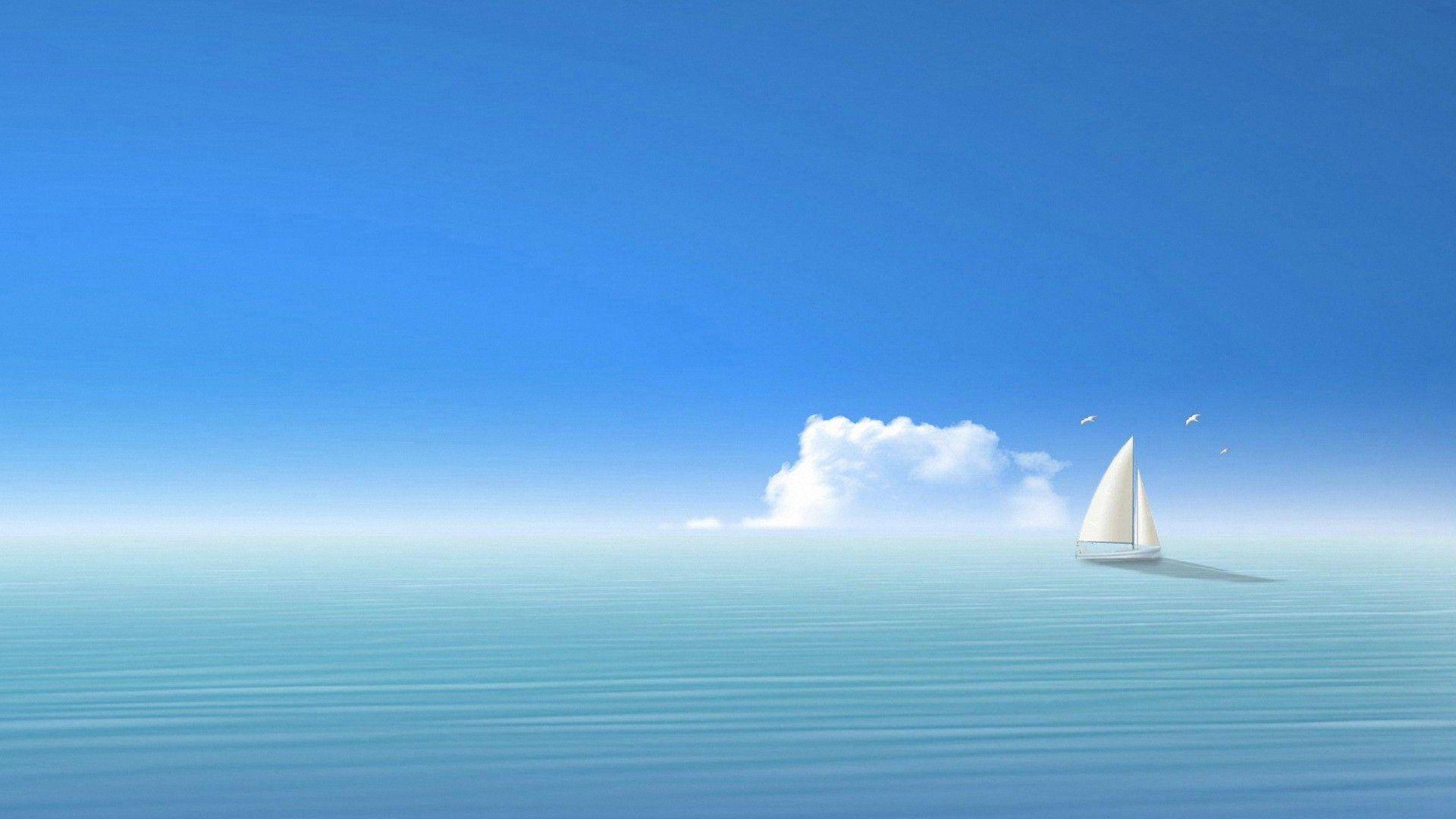 Cute Ship Sea Wallpapers Full Hd Backgrounds Digital