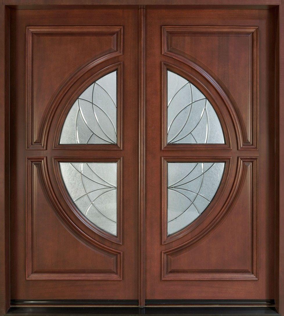 Download Modern Contemporary Double Prehung Solid Wood Door Interior