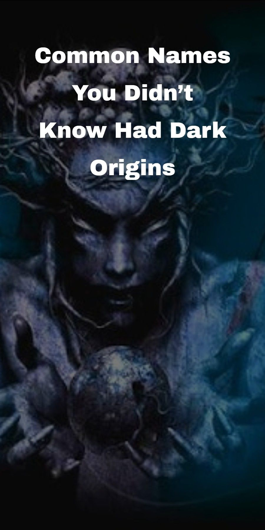 Names You Didn't Know Had Dark Origins (With images ...