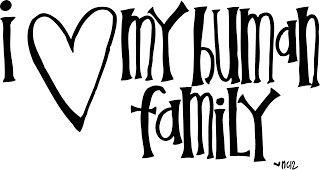 Melonheadz Illustrating Human Family (pet sympathy