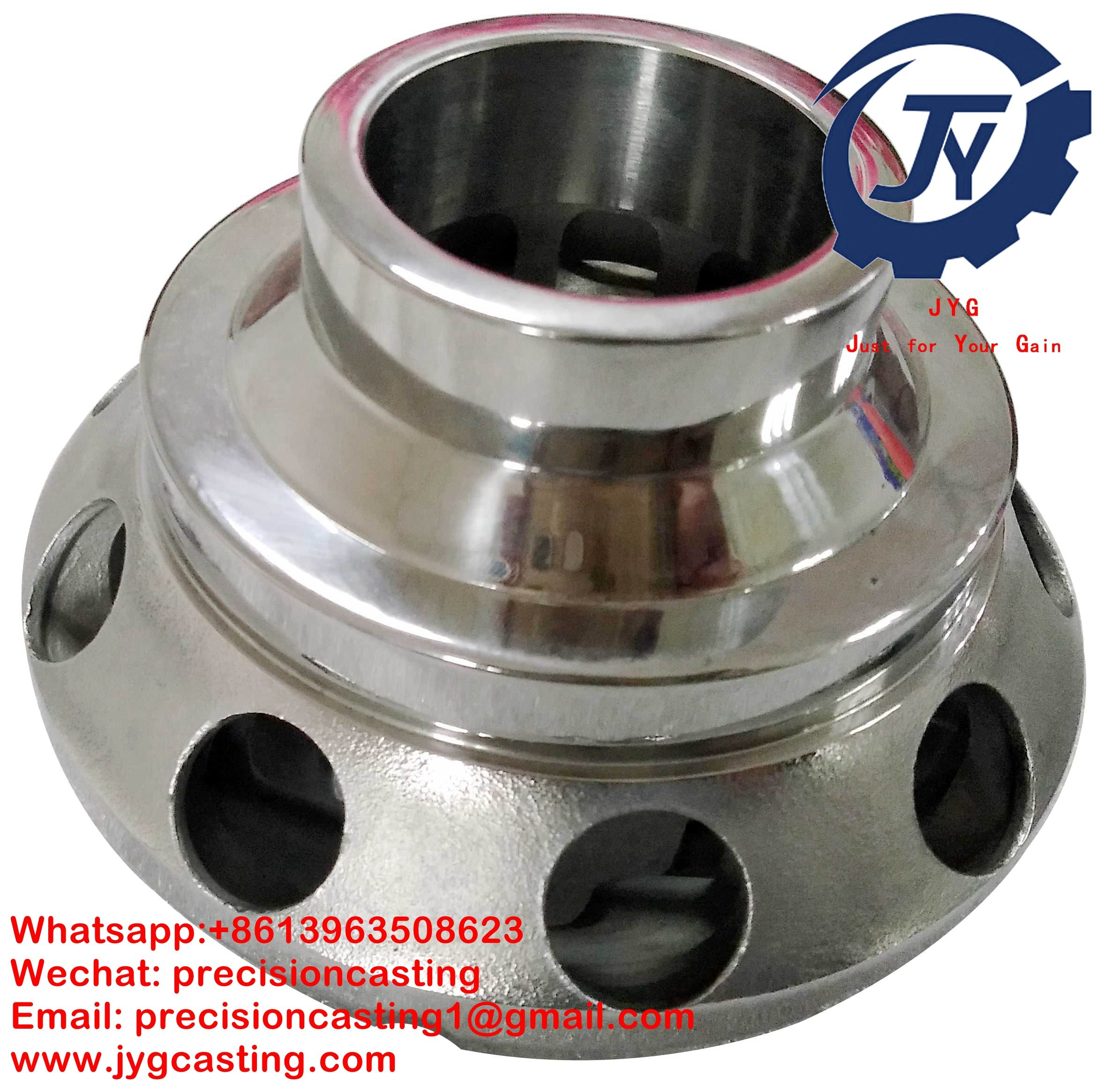 Shandong JYG Precision Casting is specialized in precision casting