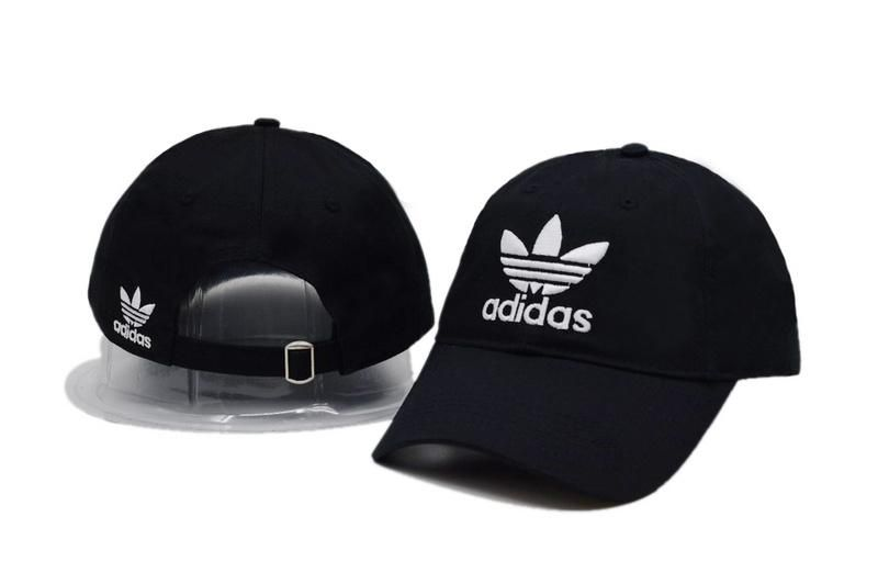 416a80236d1 Men s   Women s Unisex Adidas Originals Trefoil 3D Embroidery Logo Baseball Adjustable  Strap Back Hat - Black - Click Image to Close