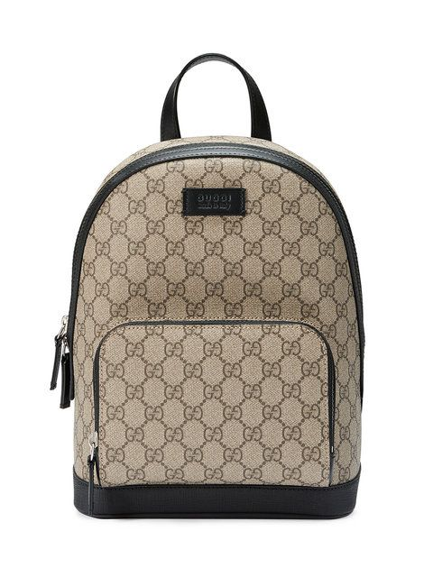 e0cbacf6340e GUCCI GG Supreme small backpack.  gucci  bags  lining  canvas  nylon   backpacks  suede