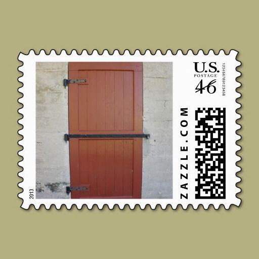 Red Door Postage Stamps
