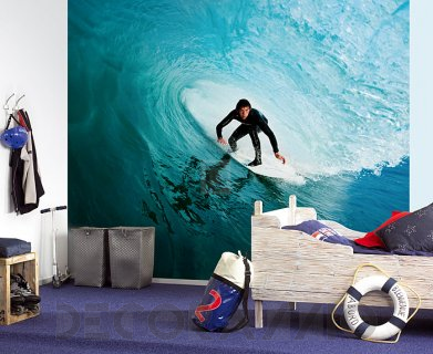 #wallpaper #interior #surfing #Обои Eijffinger Wallpower wanted, 301647 #kids_room