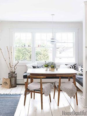 John Vogel Chairs from west elm in House Beautiful's Kitchen of the Month