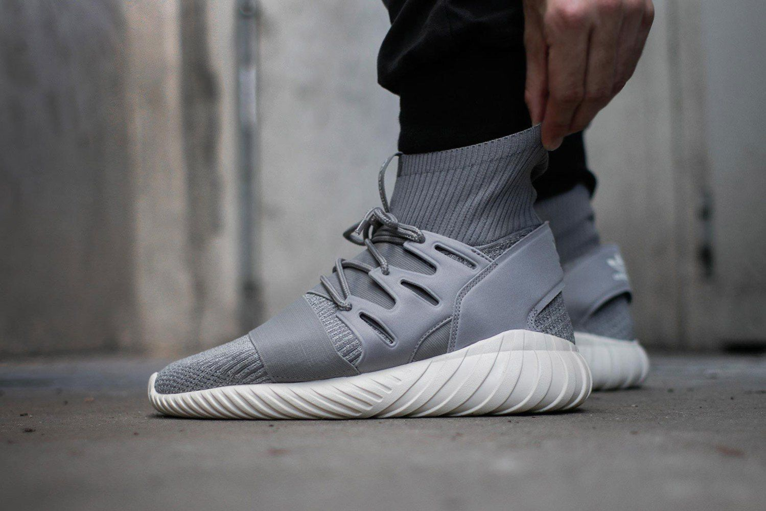 A Closer Look At The Adidas Originals Tubular Doom Primeknit