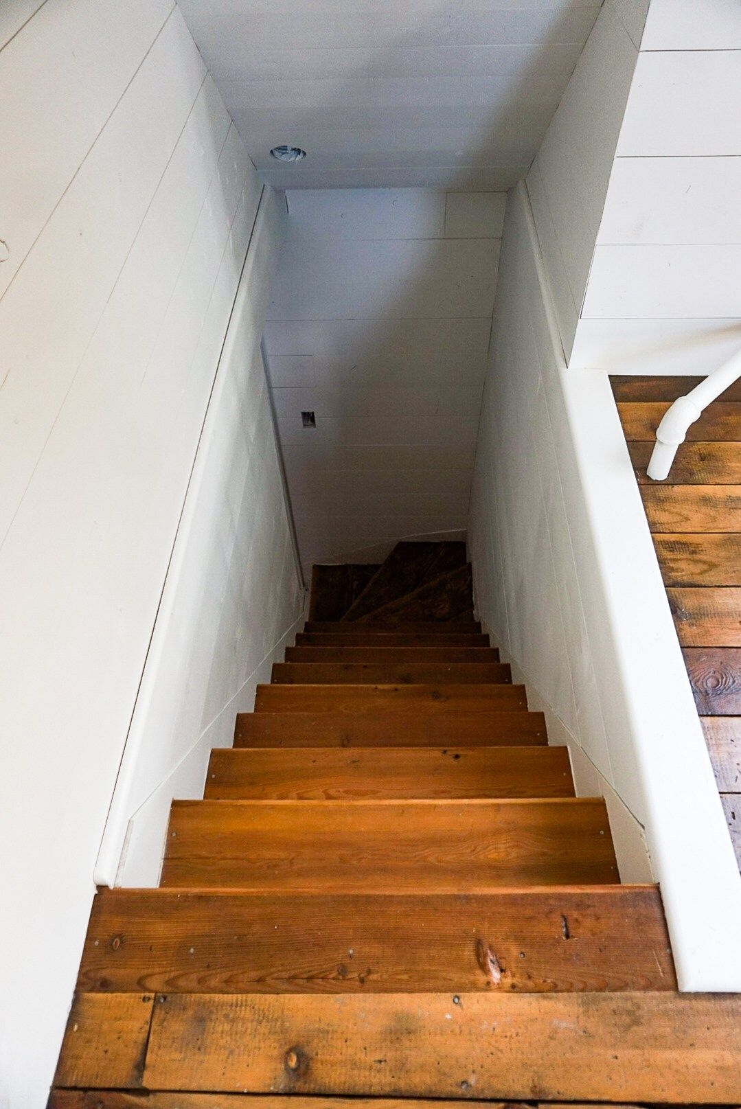 How to finish an attic space shiplap