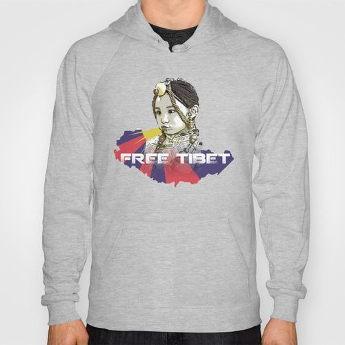 A little Tibetan girl Hoody