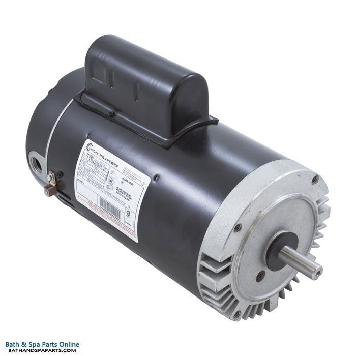 A.O. Smith (AOS) Century C-Face 3 HP Motor [Two Compartment] [Keyed] [1-Speed] [230V] (SK1302V1)